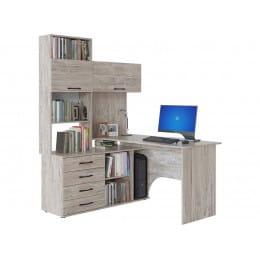 Компьютерный стол Сокол КСТ-14, дуб юкон