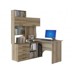 Компьютерный стол Сокол КСТ-14, дуб делано