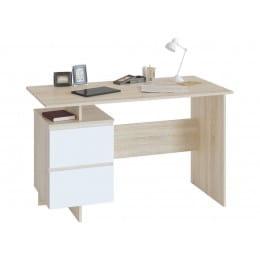 Компьютерный стол Сокол СПМ-19, дуб сонома / белый
