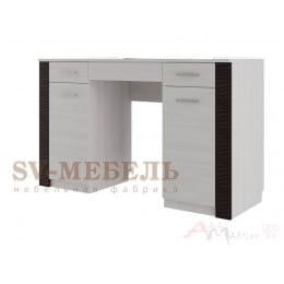 Стол туалетный SV-мебель Гамма 20 ясень анкор светлый / венге