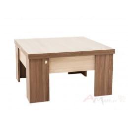 Стол-трансформер SV-мебель 2 ясень шимо темный / ясень шимо светлый