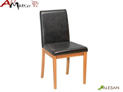 Кухонный стул Фиджи Alesan с каркасом из массива бука, тон черешня, лак