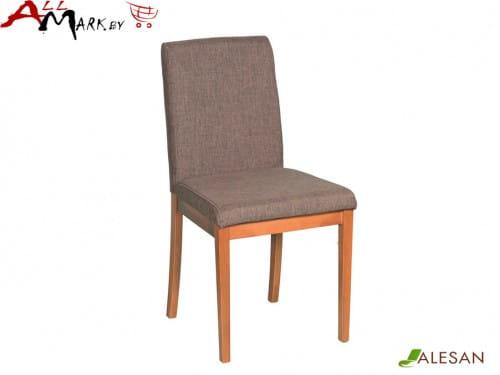 Кухонный стул Фиджи Alesan с каркасом из массива бука, тон орех, лак