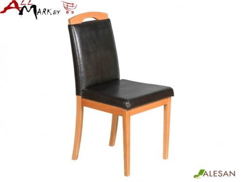 Кухонный стул Камео Alesan с каркасом из массива бука, тон черешня, лак