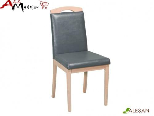 Кухонный стул Камео Alesan с каркасом из массива бука, тон дуб