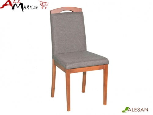 Кухонный стул Камео Alesan с каркасом из массива бука, тон орех, лак