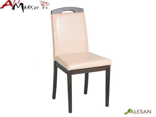 Кухонный стул Камео Alesan с каркасом из массива бука, венге