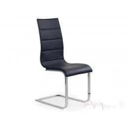 Стул Halmar K 104 черно-белый