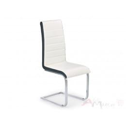 Стул Halmar K 132 бело-черный