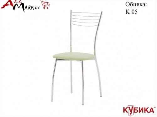 Кухонный стул Олива 1 Кубика на металлокаркасе с экокожей