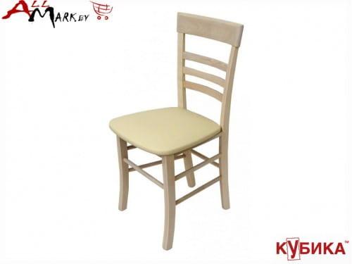 Кухонный стул Парма Кубика на деревянном каркасе массив бука