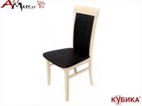 Кухонный стул Верона Кубика на деревянном каркасе массив бука