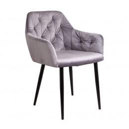 Кресло Sedia Dinar серый