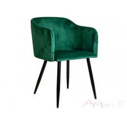 Кресло Sedia Orly velvet зеленый