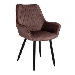Кресло Sedia Pablo, коричневый