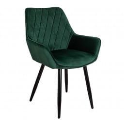 Кресло Sedia Pablo, темно-зеленый