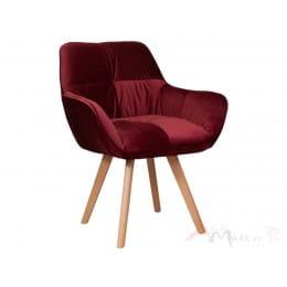 Кресло Sedia Soft бордовое