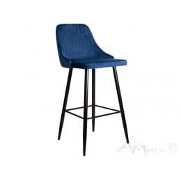 Стул барный Sedia Megan 2 velvet синий