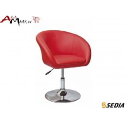 Кресло Moretti Sedia красное