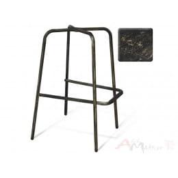 Каркас барного стула Sheffilton SHT-S29 черный муар / зол.патина