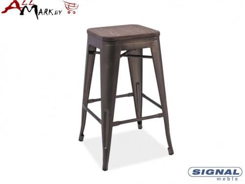 Барный стул Long орех Signal