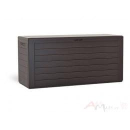 Сундук Prosperplast Woodebox 280L, коричневый