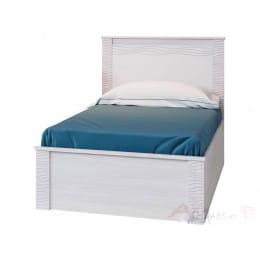 Кровать SV-мебель Гамма 20 120x200 ясень анкор светлый / сандал светлый