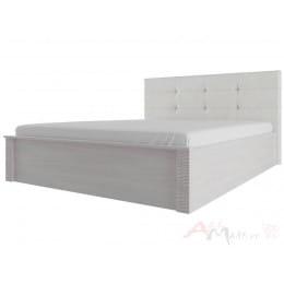 Кровать SV-мебель Гамма 20 160x200 с мягким изголовьем ясень анкор светлый / сандал светлый