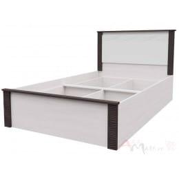 Кровать SV-мебель Гамма 20 90x200 ясень анкор светлый / венге