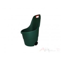 Тележка пластиковая Keter Easy Go 55 л (зеленый)