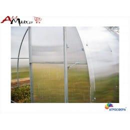 Теплица Агросфера Богатырь Премиум - 4 м, труба 40x20, профиль 1 мм