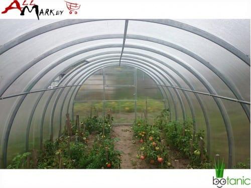 Теплица под поликарбонат Ботаник Люкс труба 40x20 мм, длина 8 м