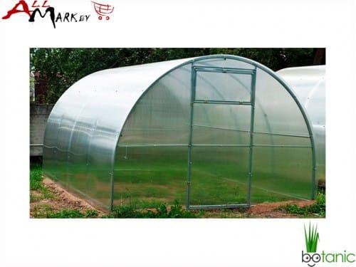 Теплица под поликарбонат Ботаник Оптима труба 20x20 мм, длина 8 м