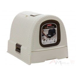 Туалет для кошек Curver Cat Litter box белый