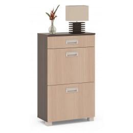 Тумба для обуви Сокол-мебель ТО-2м венге / беленый дуб