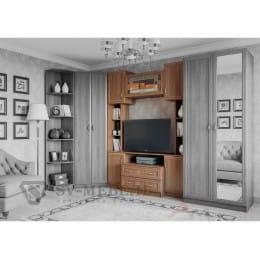 Тумба для ТВ SV-мебель Вега ВМ-08 ясень шимо темный