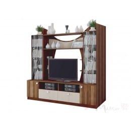 Тумба для ТВ SV-мебель Гамма 15 слива валлис / дуб млечный
