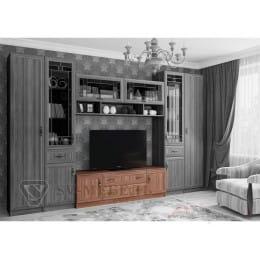 Тумба для ТВ SV-мебель Вега ВМ-31 ясень шимо темный