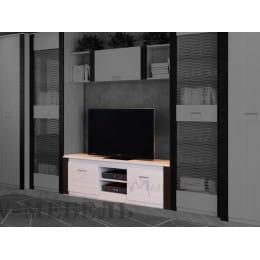 Тумба для ТВ SV-мебель Гамма 20 ясень анкор светлый / венге