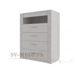 Комод SV-мебель Гамма 20 4 ящ ясень анкор светлый / сандал светлый
