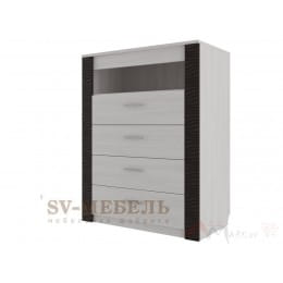 Комод SV-мебель Гамма 20 4 ящ ясень анкор светлый / венге