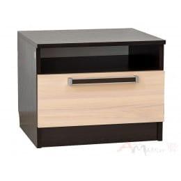 Тумба прикроватная SV-мебель Эдем 2 дуб венге / дуб млечный