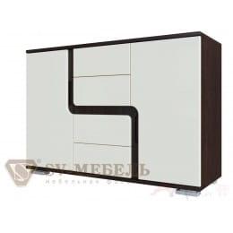 Комод SV-мебель Нота 25 дуб венге / жемчуг