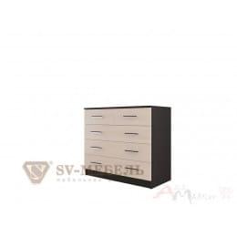 Комод SV-мебель 8 дуб венге / дуб млечный