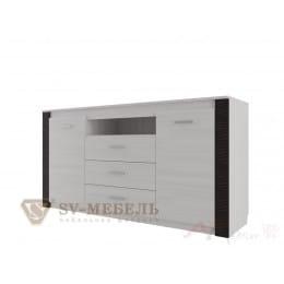 Комод SV-мебель Гамма 20 3 ящ ясень анкор светлый / венге