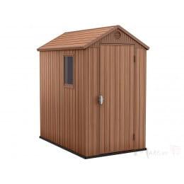 Хозблок Keter Darwin 6x4 , коричневый