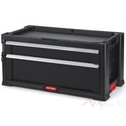 Модуль к комоду Keter 2 Drawers EuroPro черный