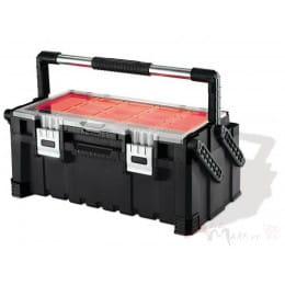 Ящик для инструментов Keter 22 Canti combo , черный