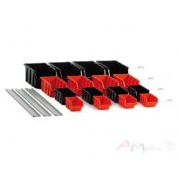 Ящик для инструмента Prosperplast Settruck красный