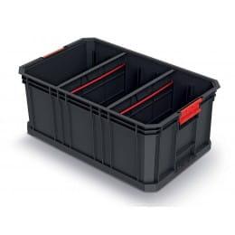 Корзина для инструментов с разделителями Kistenberg MODULAR SOLUTION (KMS553520S), черный